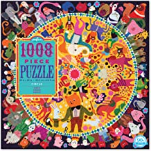 eeBoo Circus Jigsaw Puzzle for Adults, 1000 Pieces