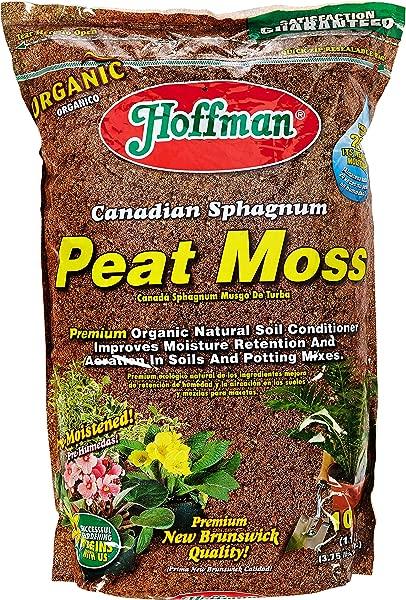 Hoffman 15503 Canadian Sphagnum Peat Moss 10 Quarts