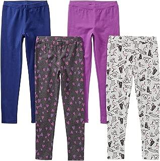 Amazon Brand - Spotted Zebra Girls' Toddler & Kids 4-Pack...