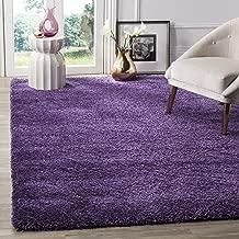 Safavieh Milan Shag Collection SG180-7373 Purple Area Rug (4' x 6')