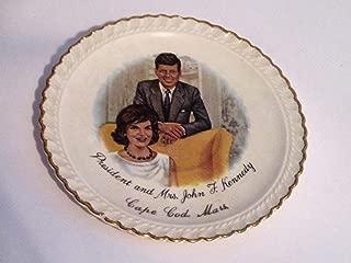 president and mrs john f kennedy plate