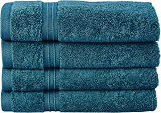 Bliss Casa - Luxury Hand Towels (4 Pack, 40 x 70 cm) - 100% Combed Cotton, Ultra Soft and Highly Absorbent, Hotel & Spa Qu...