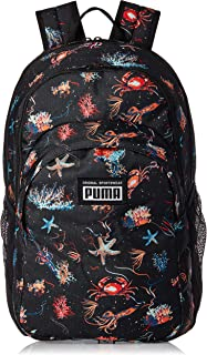 PUMA Mens Academy Backpack, Black (Black/Underwater) - 07730105