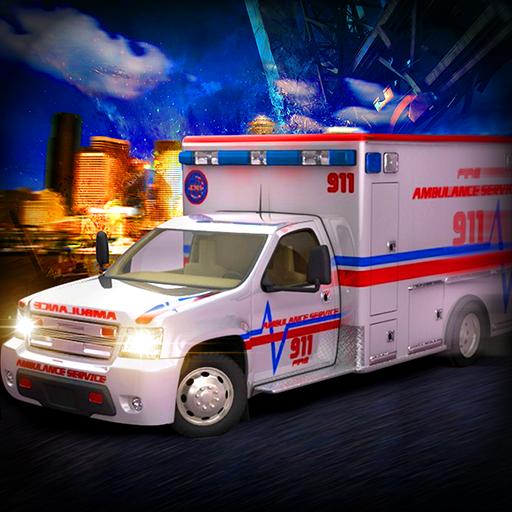 Servicio de Emergencia de Rescate de Ambulancia 2017 3D Gratis