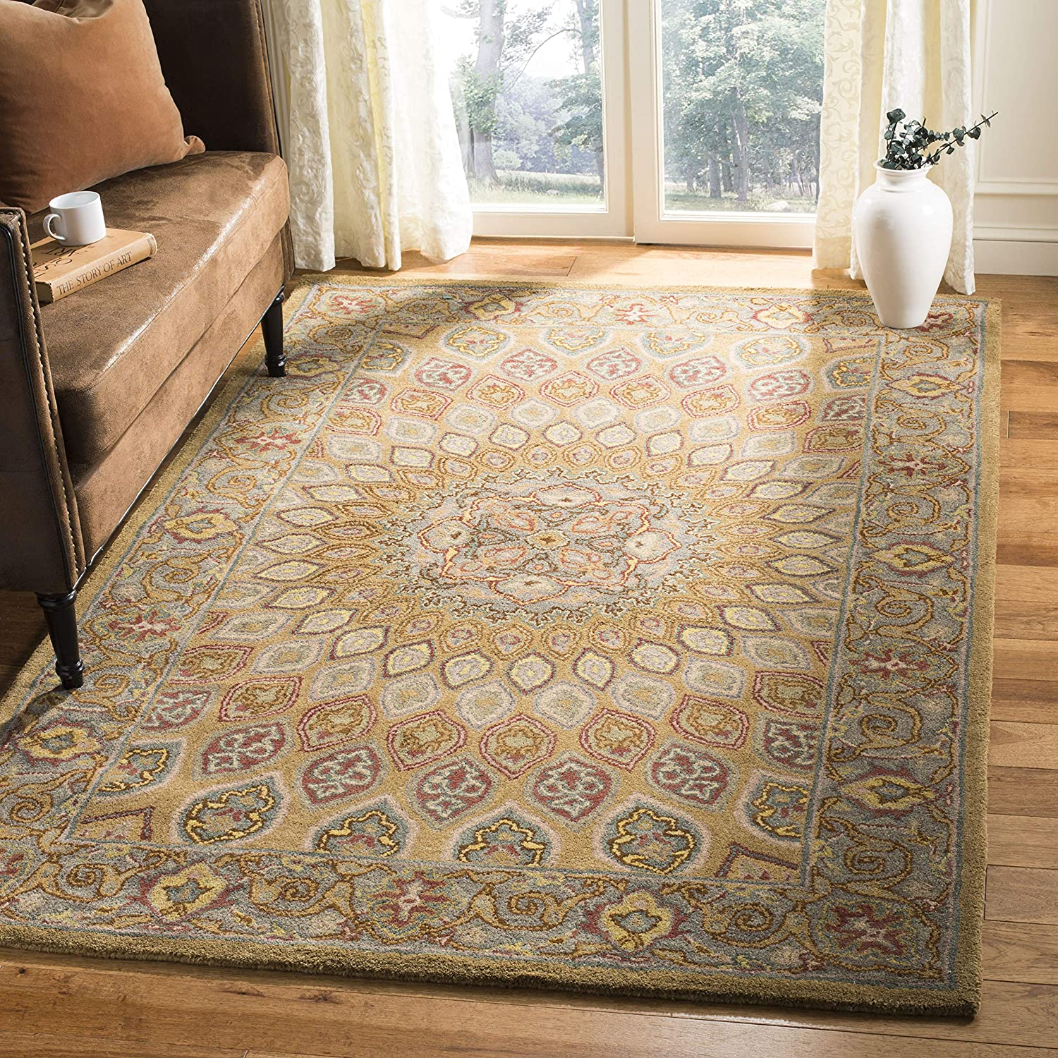 Safavieh outlet Heritage Collection HG914A Orienta Handmade Free shipping on posting reviews Traditional