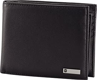Victorinox Men's Altius 3.0 Amsterdam Leather Bifold Passcase Wallet