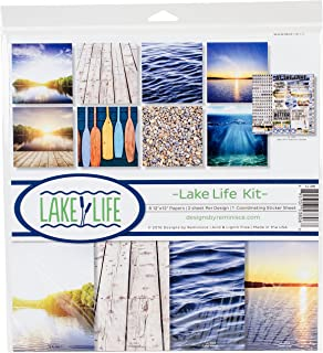 Reminisce Lake Life Scrapbook Collection Kit