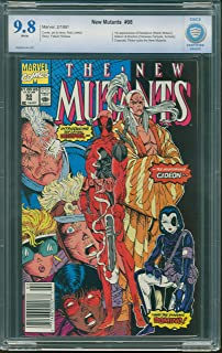 New Mutants 98 CGC Graded **See Amazon Condition note for grades**