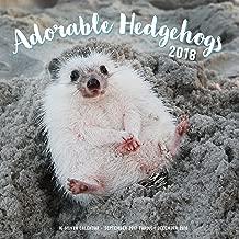 Adorable Hedgehogs Mini 2018: 16 Month Calendar Includes September 2017 Through December 2018