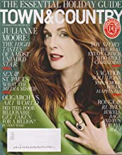 Town & Country Magazine (December, 2015/January, 2016) Julianne Moore Cover