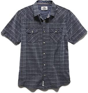 – Men's Decker Short Sleeve Double Pocket Shirt - Athletic Fit