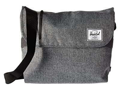 Herschel Supply Co. Odell (Raven Crosshatch) Messenger Bags