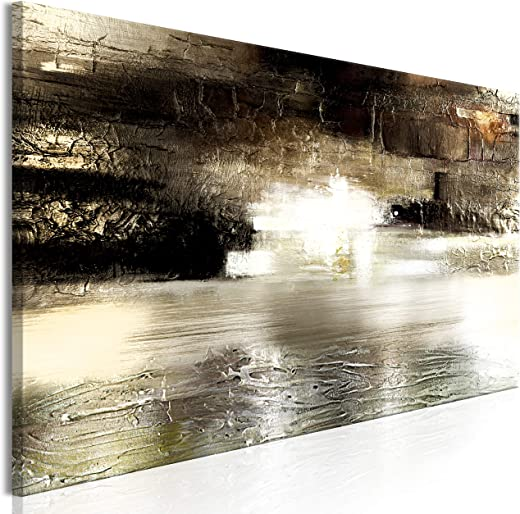murando – Bilder Abstrakt 150×50 cm Vlies Leinwandbild 1 TLG Kunstdruck modern Wandbilder XXL Wanddekoration Design Wand Bild – Textur Struktur wie…