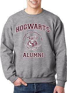 New Way 129 - Crewneck Hogwarts Alumni Unisex Pullover Sweatshirt