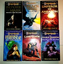 Dragonlance Villains Series 1-6 (Before the Mask, Black Wing, Emperor of Ansalon, Hederik the Theocrat, Lord Toede, Dark Q...