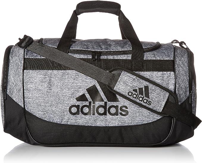 adidas Medium Defense Duffel Onix Jersey/Black One Size