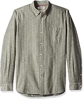 Goodthreads Standard-Fit Long-Sleeve Chambray Shirt Uomo