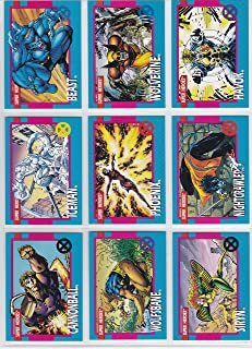 The Uncanny X-Men Series 1 Trading Card Complete Set By Jim Lee (1992)