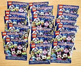 LEGO Disney Series Minifigures - Complete Set of 18 Minifigures (71012)