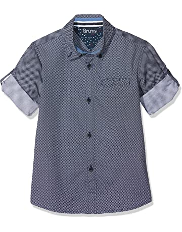 Jungle Safari 100 18 Mesi Bimbo Hatley Short Sleeve Button Down Shirts Camicia Bianco