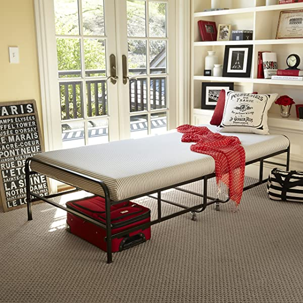 Zinus Memory Foam Getaway Premier Folding Guest Bed Twin