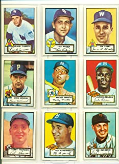 1952 topps reprint complete set