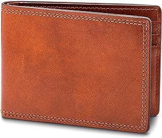 Bosca Men's Small Bifold Leather Wallet