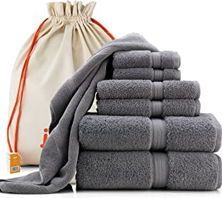 Best blue and gray hand towels Reviews