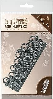 Find It Trading Butterfly Border Jeanine's Art Classic Butterflies & Flowers Die