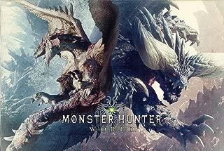 PS4 モンスターハンター:ワールド コレクターズ・エディション (MONSTER HUNTER: WORLD COLLECTOR'S EDITION) 特典 デラックスキット ダウンロード用プロダクトコードカード 【特典のみ】