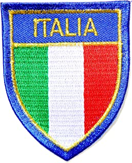 ITALY ITALIA Flag Shield National Rome Country Team Military Army Biker Jacket T shirt Uniform Patch Sew Iron on Embroidered Badge Sign Costume2