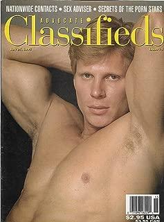 Kevin Sharpe l B.J. Slater l Secrets of the Gay Porn Stars - July 25, 1995 Advocate Classifieds