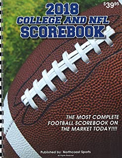 Northcoast Sports 2018 College and NFL Scorebook