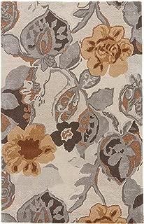 Jaipur Living Petal Pusher Hand-Tufted Floral & Leaves White Area Rug (3'6