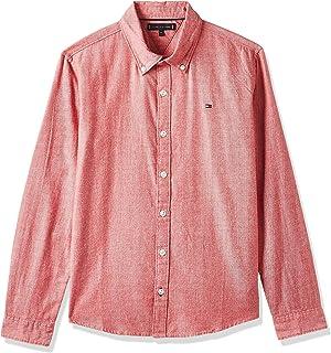 Tommy Hilfiger Essential Twill Oxford Shirt L/S Camisa para Niños
