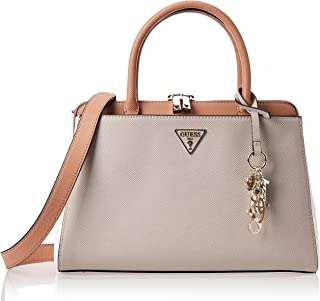 Guess Womens Satchel Bag, Multicolour - NG729106