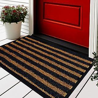 Extra Durable Door Mat - 30x18 Welcome Mats for Front Door - Door Mats for Home Entrance Outdoor - Brown Welcome Mat - Ent...