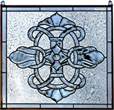 24x24 stained glass panel
