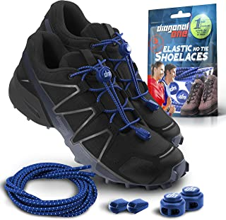 Elastic Shoe Laces for Men and Women, Compatible with Sneakers, Converse, Trainers, and Casual Footwear – No Tie Shoelaces Suitable for Kids, Adults, Teenagers and Seniors