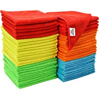 50-Pack S & T Microfiber Cleaning Cloth (
