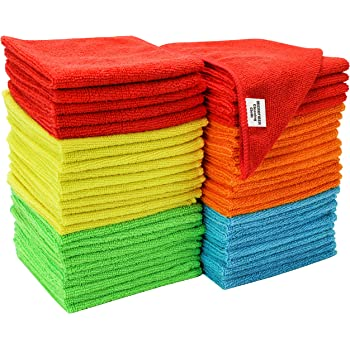 S&T INC. Microfiber Cleaning Cloths