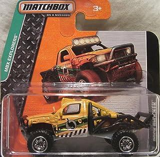 Matchbox 2014 MBX Explorers Rock Shocker 53/120 Short Card by Matchbox