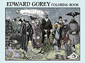 Edward Gorey: Coloring Book
