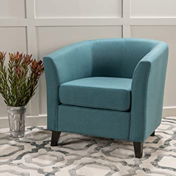 Christopher Knight Home Preston Arm Chair (Dark Teal)