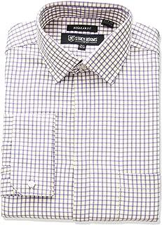 Stacy Adams Men's Bold Check Classic Fit Dress Shirt