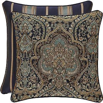Throw Pillows Home Kitchen Croscill Aurelio 18 X 18 Square Pillow 2a0 590o0 4597 420
