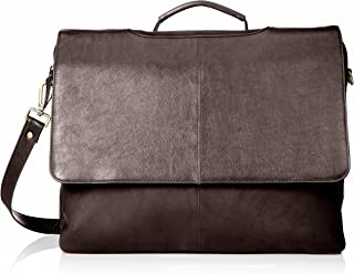 Visconti Leather Business Case/ Briefcase/ Handbag ,Ladies Pocketbook, Quality Bag 658 (Large, Chocolate)