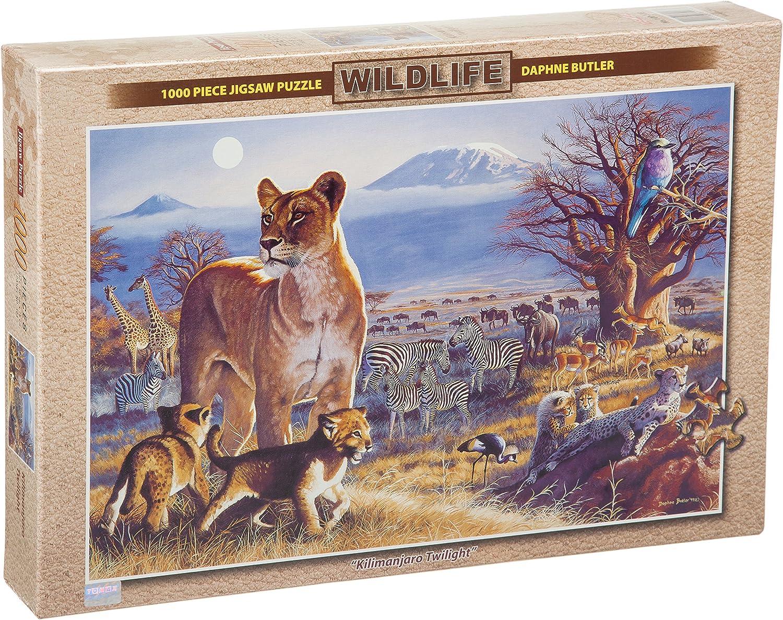 Puzzle  Kilimanjaro Twilight, 1,000 Pieces Jigsaw puzzle