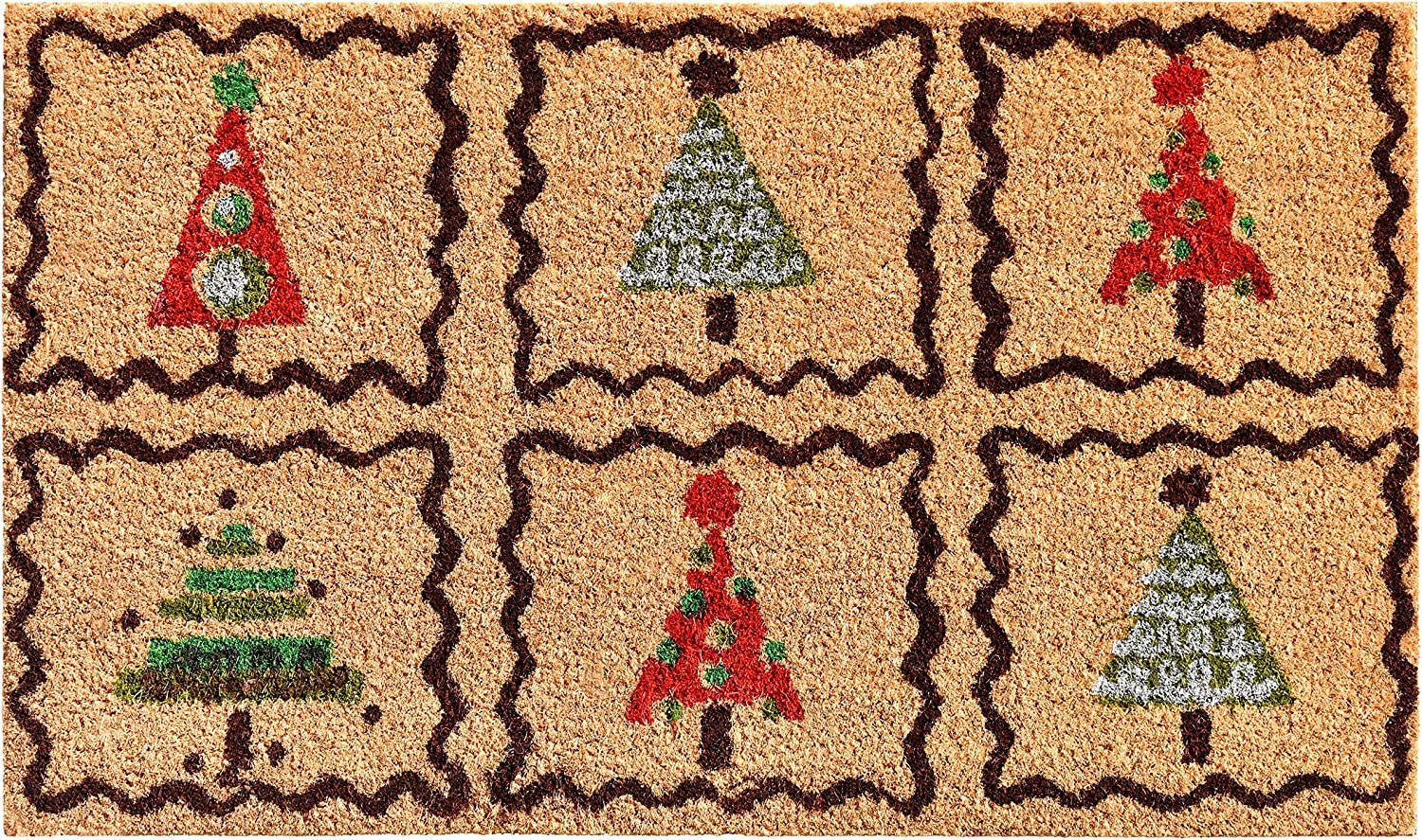 Calloway Mills 121051729 Christmas Challenge the lowest price Trees Ranking TOP15 Doormat 17