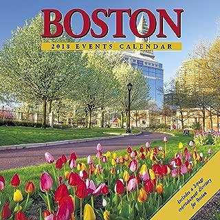 Boston 2018 Calendar: Includes a 2-Page Entertainment Directory for Boston